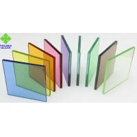 Buy cheap PVB Film Laminated Glass Sheets Various Colors For Architectural Glass from wholesalers