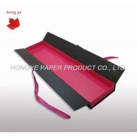 Buy cheap Hair Extension Recycled Cardboard Packaging Boxes With Ribbon from wholesalers