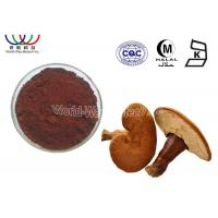 Buy cheap Pure Natural Reishi Mushroom Extract Boost Immunity Brown Fine Powder Reduce Cholesterol from wholesalers