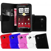 Buy cheap Customized Solid Color Cell Phone Wallet Cases / HTC Sensation XE Phone Cover from wholesalers