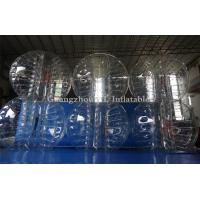 Buy cheap TPU Inflatable Adult Bubble Ball red blue orange clear from wholesalers