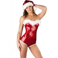 Buy cheap Sequin Adult Christmas Costumes Decoration Hat Sweet Sassy Cute from wholesalers