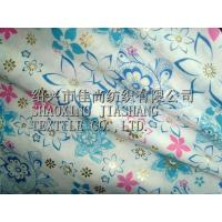 Buy cheap 100%Cotton Voile Burnt-out Gold Printed from wholesalers