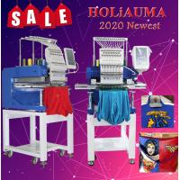 Buy cheap 15 needle One head Hot sale single head computerized embroidery machine with cheap price from wholesalers