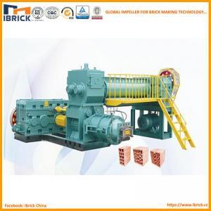 China Brick production line clay solid brick making machine on sale