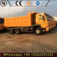 Buy cheap HOWO 336HP 10wheels Construction Work Dumper LHD 6X4 Tipper Truck from wholesalers
