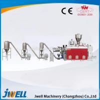 Buy cheap Jwell high output WPC granulation machine/ granule making machine price from wholesalers