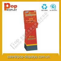 Buy cheap Vertical Advertising Cardboard Display Stands For Exhibition from wholesalers