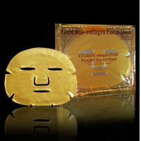 Buy cheap gold collagen facial mask, Collagen Gold Crystal Facial Mask ,Golden Collagen Face Mask from wholesalers