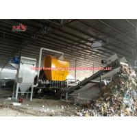 Buy cheap Solid Waste Household Garbage Shredder 20 TPH Large Capacity MSW Municiple from wholesalers