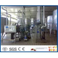 Buy cheap Fresh Milk / Pouch Milk / Dairy Milk Processing Plant , 1000 - 6000LPH Milk Powder Plant from wholesalers