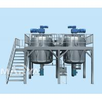 Buy cheap Bottom Homogeneity Vacuum Emulsifier from wholesalers