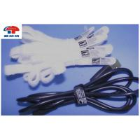 Buy cheap Heavy Duty White Hook Loop Cable Ties Bulk ,  Reusable Cable Ties from wholesalers