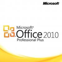 Buy cheap 3.5GB Hard Drive Microsoft Office 2010 Pro Plus Key Code Sticker Yellow Color from wholesalers