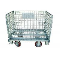 Buy cheap Warehouse Storage Collapsible Hanging- type Wire Mesh Container from wholesalers