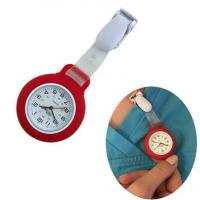 Buy cheap Promotional Clip Silicone Nurse Watch Pocket Watch Logo Customized from wholesalers