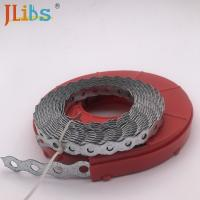 Buy cheap Customized Stamping Parts Metal Stamping Rounded Perforated Metal Strap from wholesalers