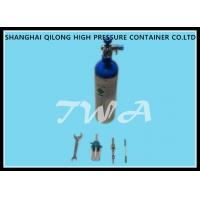Steel Cylinder  Pressure 0.5L Medical Gas Cylinder Storage 25Mpa