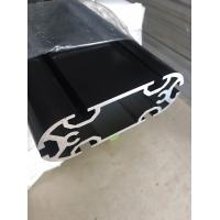 Buy cheap Custom Made Extruded Aluminum Profiles , Electroplate Black Long Aluminum Extrusion Profiles from wholesalers