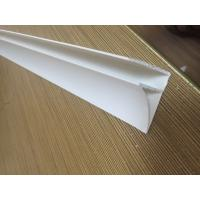 Buy cheap 4CM Glossy Extruded Plastic Profiles Top Clip For Room Roof Garden Drainage Board from wholesalers