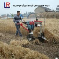 Buy cheap 8HP 5KW Wheat Reaper Binder Harvester with water cooling diesel engine product