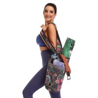 Buy cheap Printed Yoga Mat Carry Bag Gym Mat Case For Women Men Pilates Fitness Exercise Pad from wholesalers