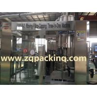 Buy cheap Small capacity Glass bottled drinking water filling machine from wholesalers