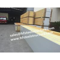 Buy cheap Galvanized Polyurethane Sandwich Panel For Freezer Units Walk In Cold Room from wholesalers