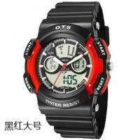 Buy cheap New Fashion Sport OTS Wrist Watch,Water-Resist,Chronograph,Alarm,Calendar,EL Backlight from wholesalers