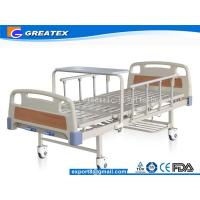 Buy cheap GT-BM5205 Manual 2 Crank Hospital Bed Simple Flat adjustable medical bed from wholesalers