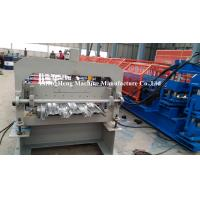 Buy cheap 11kw Hydraulic Cutting Floor Decking Forming Machine With Pre Cutting Device from wholesalers