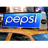 Buy cheap 960x320MM ROHS 110-240V taxi led sign Epistar 3G / GPS / WIFI Control from wholesalers