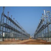 Buy cheap High Strength, Light Deadweight Steel Building Structures for Workshop, High-Rise Building from wholesalers