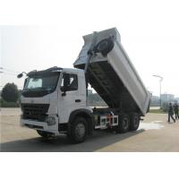Buy cheap HOWO A7 Dump Truck Trailer U Shaped 18M3 10 Wheeler 20M3 30 Tons Tipper Truck Trailer from wholesalers