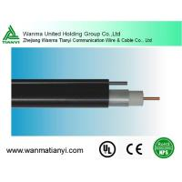 Buy cheap HFC system 75ohm Trunk cable QR540 CATV cable with messenger product