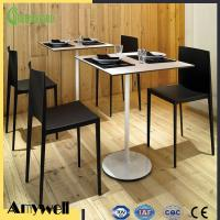 Buy cheap Amywell waterproof anti-abrasive Phenolic Resin compact White Dining Table Top from wholesalers