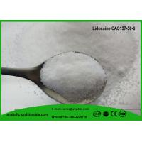 Buy cheap Relieve Itching Lignocaine Local Anesthetic Agents CAS 137-58-6 Lidocaine Raw  Powder from wholesalers