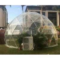 Buy cheap UV - Treated Clear Camping Tent , Beach Hotel Geodesic Dome Greenhouse from wholesalers