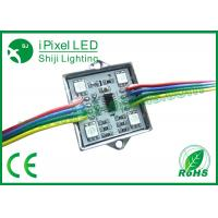Buy cheap Digital Full Color 4 LED RGB LED Pixel Strip With SD Controller WS2801 from wholesalers