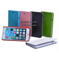 Buy cheap New arrival 4.7 Iphone6 mobile phone case, leather case with 6 different colors from wholesalers