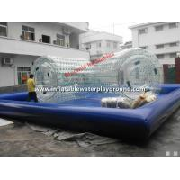 Buy cheap 2.8m Long Inflatable Water Roller / Water Walking Roller For Swimming Pool from wholesalers