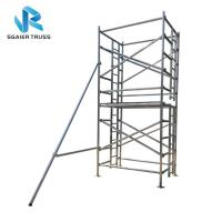 Buy cheap H Frame Platform Aluminium Mobile Scaffold Stable Performance Easy To Carry from wholesalers