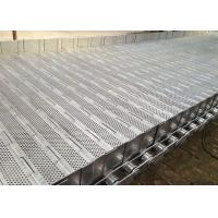 Buy cheap Flat Surface Plate Conveyor Belt High Load With Roller Chain ISO9001 from wholesalers