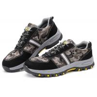 Buy cheap Customized Lightweight Industrial Safety Shoes , Anti Alkali Casual Safety Shoes product