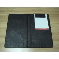 Buy cheap Checkbook, log book and Menu PU Hotel Information Folder for Hotel, motel or restaurant from wholesalers
