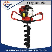 Buy cheap Hand held gasoline/petrol 2-stroke air cooling 52cc ground earth auger drills from wholesalers