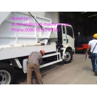 Buy cheap White Garbage Compactor Truck / City Cleaning Waste Management Garbage Truck 4x2 12 to 14 CBM from wholesalers