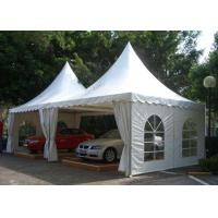 Buy cheap Waterproof Aluminum Pagoda Tent , Movable Canopy Tent Frame CE Standard from wholesalers
