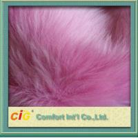 Buy cheap Pink Toys 800g / m Faux Fox Fur Fabric For Garment And Funiture product