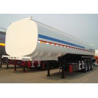 Buy cheap CIMC oil transportation trailer gasoline semi truck trailer tanker with the capacity of 55 CBM from wholesalers